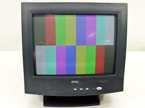 """Dell  E551c  15"""" SVGA CRT Monitor - Black"""