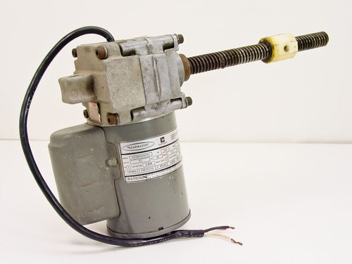 Emerson K37MYA131335  1/12 HP Gearmaster 63 RPM Motor with Gear and S