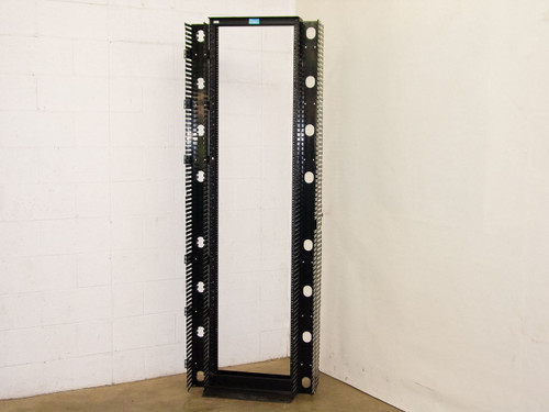 CPI 55053-X03  45U Standard Rack with Cable Channels