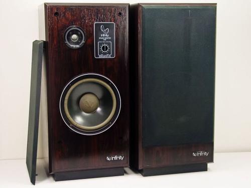 Infinity SM 100  Studio Monitor Floor Speakers - Pair - As Is