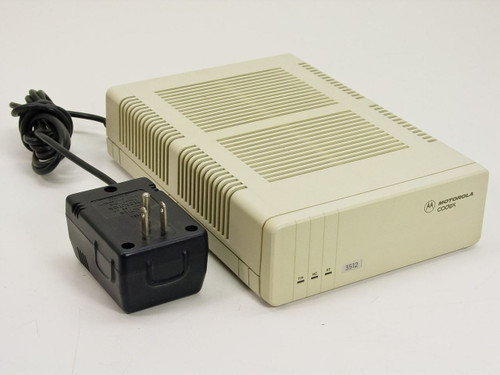 Motorola 49152  Codex 3512 DSU / CSU Modem with Power Supply