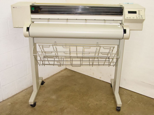 """HP C2848A  36"""" DesignJet 600 Inkjet Plotter with Stand"""