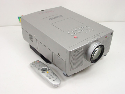 Sanyo PLC-XP18N  Pro XxtraX Projector Remote and SYM BNCF