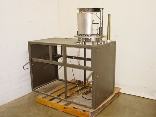 Stainless Steel  Thermal Deposition  Vacuum Chamber Base - No Bell Jar or Diffusion Pump