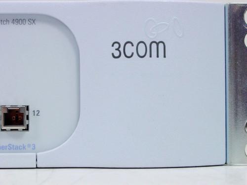 3Com 3C17702  12 Port 4900 SX Super Stack 3 Gigabit Fiber Switch