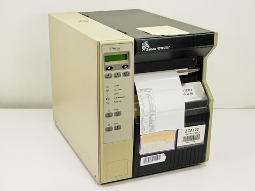 Zebra 170Xilll  B/W Direct thermal transfer printer