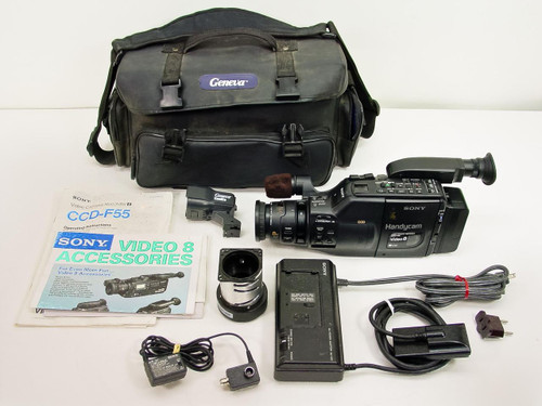 Sony CCD-F55  Handycam video 8 Camcorder DC 6V