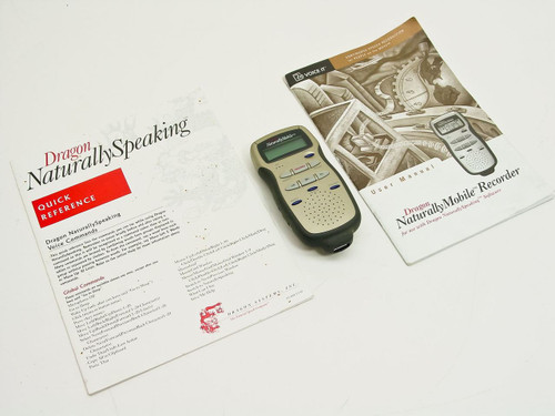 Dragon 053200000  Naturally Speaking Mobile Recorder