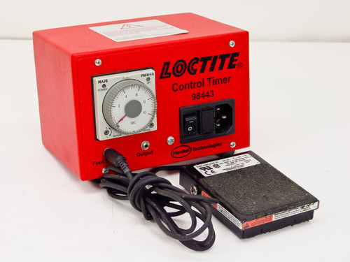 Loctite / Henkel 98443   LED Control Timer with Foot Pedal