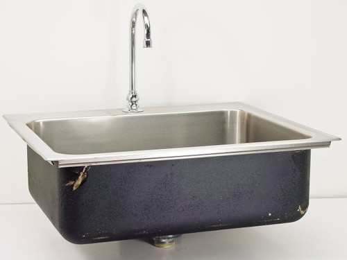 """Stainless Steel 21"""" x 25""""  Sink"""