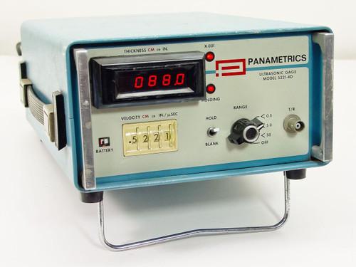 Panametrics 5221-4D  Ultrasonic Gage
