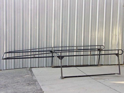 "Black Maxx 1.5"" Diameter Steel Tubing  Truck Lumber Rack"
