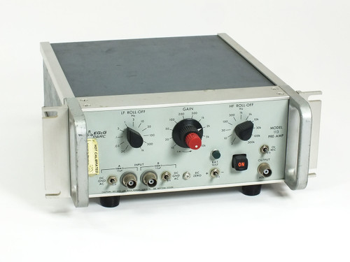 Princeton Applied Research / EE&G Pre-Amp -AS-IS UNTESTED (Model 113)