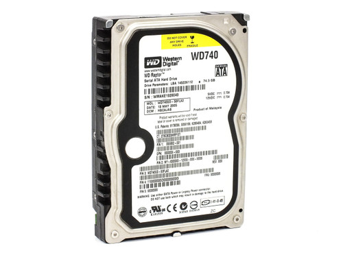 "Western Digital WD740GD-50FLA2 74.3GB 3.5"" SATA WD Raptor Internal Hard Drive"