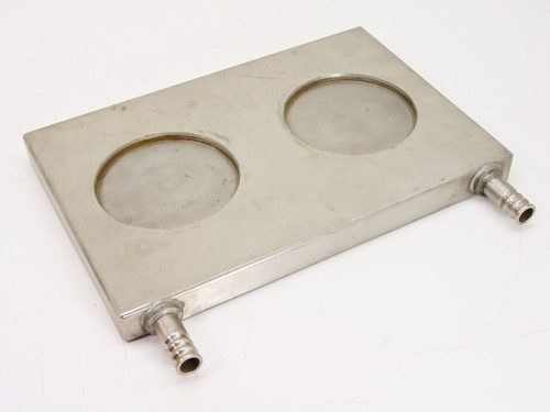 Hot Plate / Cold Plate Air/ Water   12mm I.D ~ 17mm O.D Ports / 12x8x1""