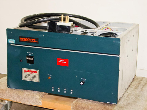 BRANSON / IPC PM-112  RF Generator PN 04015-AA 13.560 MHz- Config B