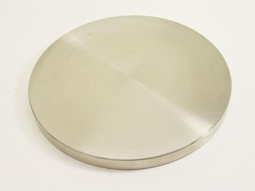 """Vacuum 8.75""""  Stainless Steel Blank Plate"""