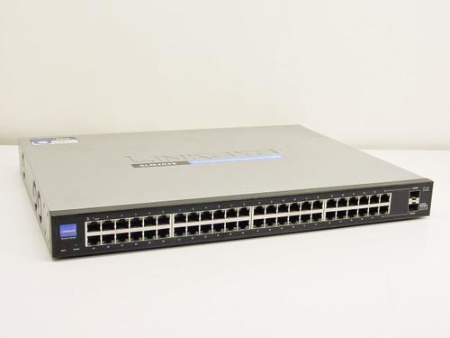 Linksys SLM2048  48-Port 10/100/1000 Gigabit Smart Switch