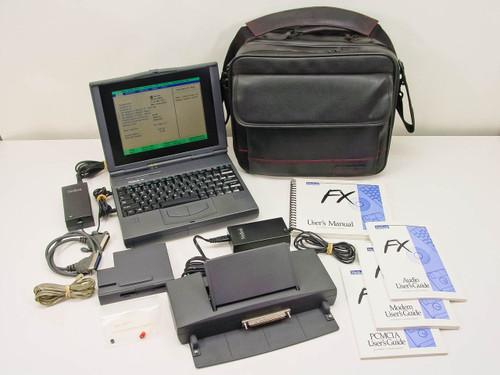 Winbook FX  Laptop Pentium 1 133MHz w/ Docking Station