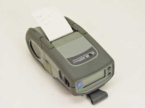 Zebra QL 220 Plus  Wireless Network Thermal Label Printer - No AC Ada