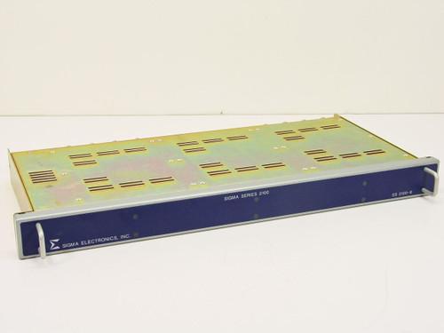 Sigma Electronics  SS-2100-6  1U rack w/VDA-21 Video Distribution Amplifiers