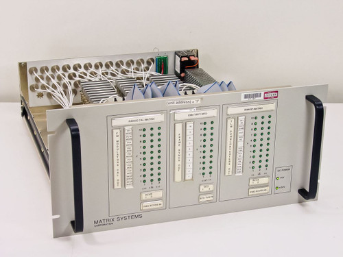 Matrix Systems Corp 10294  Programmable 2x10 & Dual 3x10 Coaxial Switching Sy