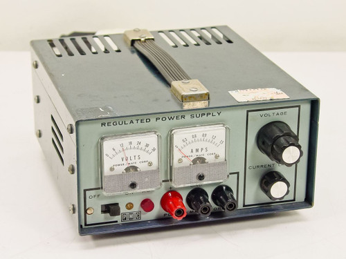 Power/Mate Corp. PMC Regulated   36V DC Power Supply 0-36 VDC ~ 01.5A