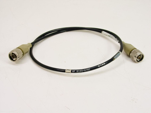 Agilent (HP) 8120-4780  Type-N Cable, 50 ohm, 26 Inches