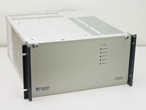 Scientific Atlanta D9130  Digital Multiplexer Chassis Loaded with PowerVU