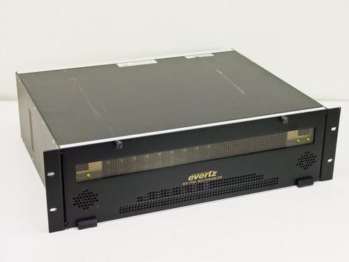 Evertz Microsystems 7700FR  19 Rack Frame with 9 7760AVM-C Cards