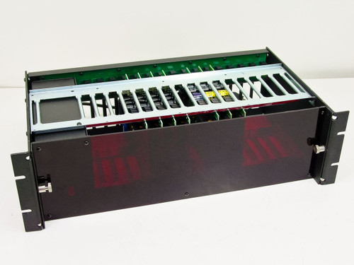 Black Box RM005  Converter Rack Chassis - Loaded with Cards