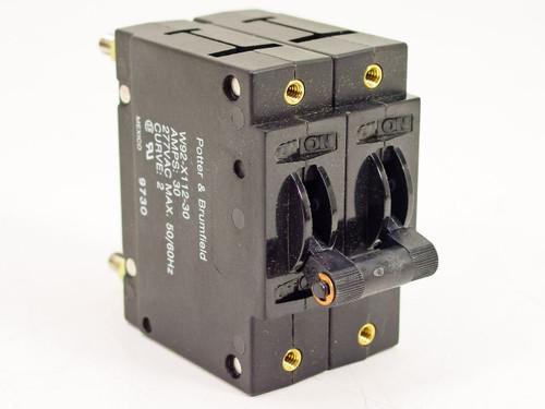 Potter & Brumfield W92-X112-30  30amp Circuit Breaker Switch
