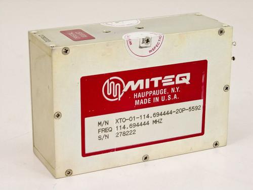 Miteq XTO-01-114.694444-20P-5592  OSCILLATOR