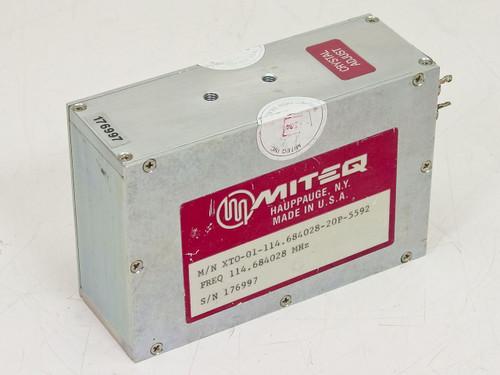 Miteq XTO-01-114.684028-20P-5592  Crystal Adjust