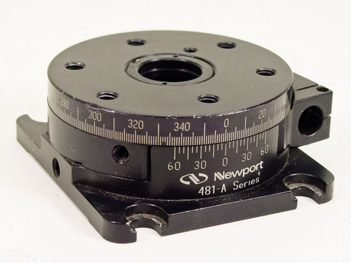Newport 481-A  Precision Optical Manual Rotation Stage
