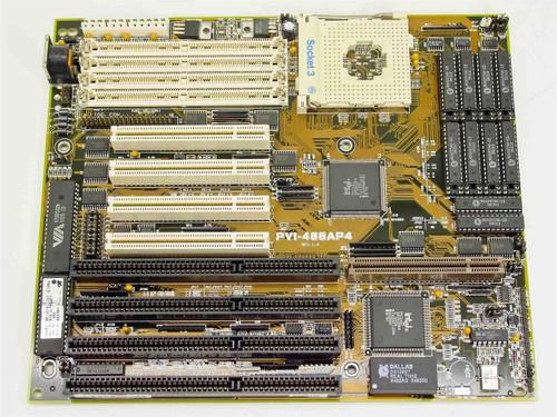 Asus PVI-486AP4  Socket 3 Motherboard