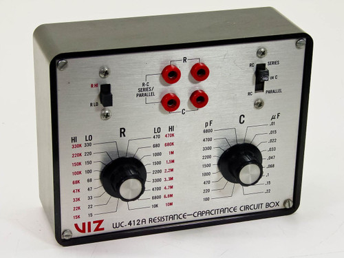 VIZ WC-412A   Resistance-Capacitance Circuit Box