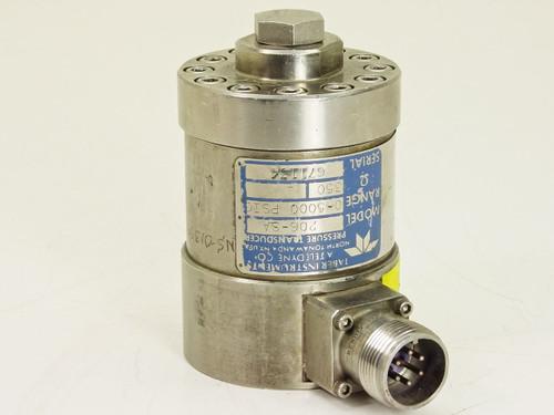 Teledyne Taber  206-SA  Pressure Transducer 0-5000 PSI 350 Ohms