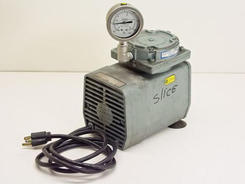 Gast  DOA-V191-AA  Oilless Vacuum Pump 25.5 mg 1.1 CFM - 115V