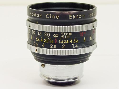 Kodak  25mm / F1.4   Cine Ekton Lens