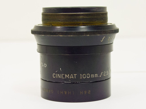 Bell & Howell  100mm / F2.9   Cinemat Lens