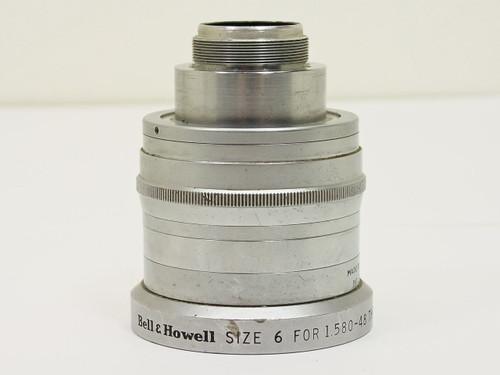 """Bell & Howell  2"""" / F1.4   Cooke Anastigmat Lens"""