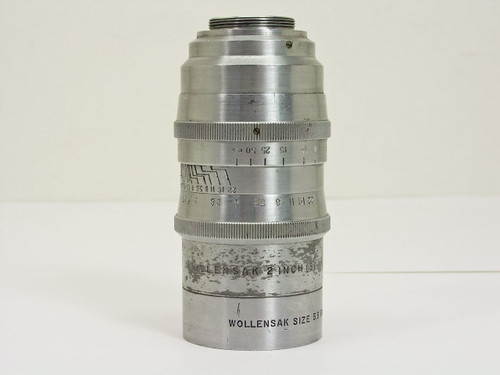 "Wollensak  2""(50mm) / F1.5   Lens / Size 5.5 Filter Hood"