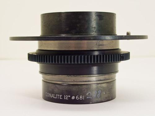 "Ednalite  12""   Large Format 300 MM Lens"