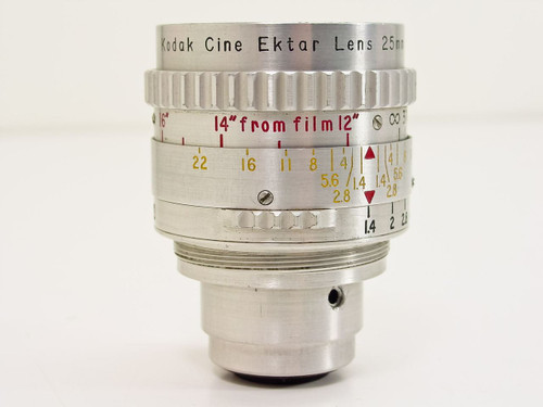 Kodak  F1.4 25mm  Cine Ektar S-Mount Movie Camera Lens