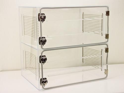 AK  24 x 18 x 24   Clear Plexiglass Two Door Nitrogen Dry Box