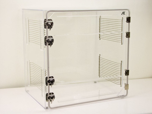 AK 24 x 18 x 24  Single Door Clear Plexiglass Dry Box