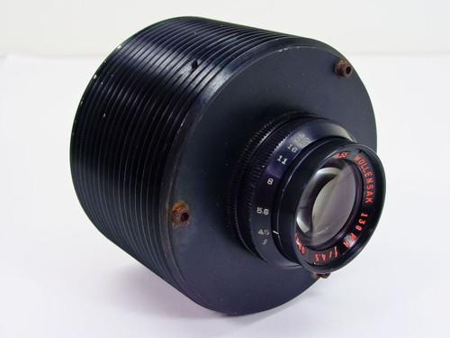 Wollensak  138 m / F4.5   Graphic Raptor 3.55 Lens