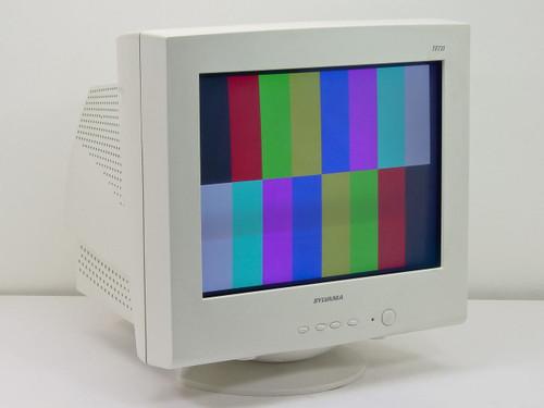 "Sylvania TF721  17"" CRT Flat Multi-Scan Color Monitor"