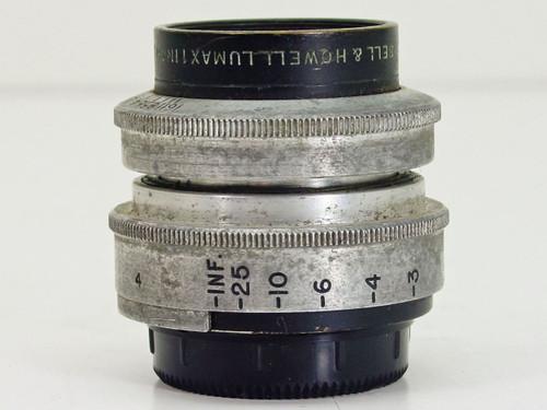 "Bell & Howell  1"" Lumax F1.9   Vintage Lens"